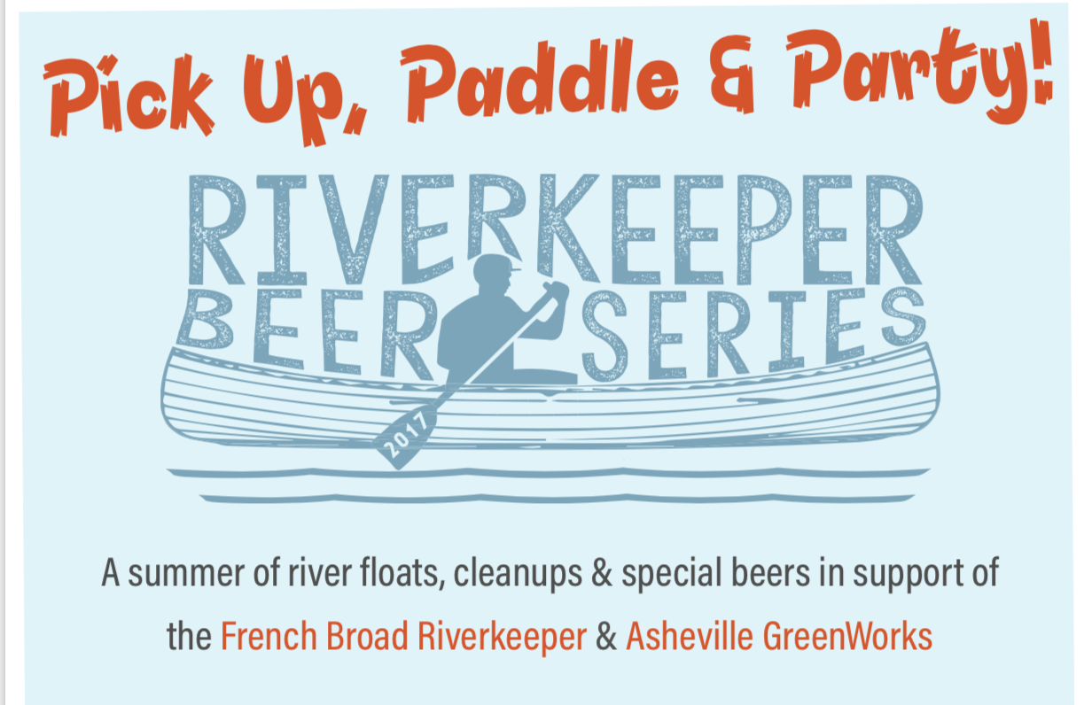 Wedge Brewing: French Broad Float & Clean-up - Asheville